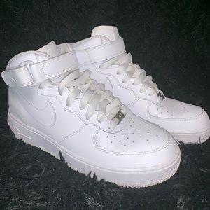 Nike High Top Air Force 1's